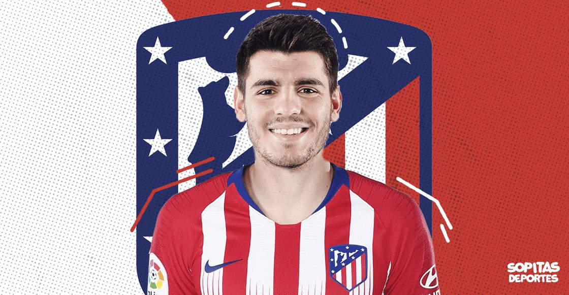 ¡Ni Judas! Álvaro Morata se convirtió en nuevo jugador del Atlético de Madrid