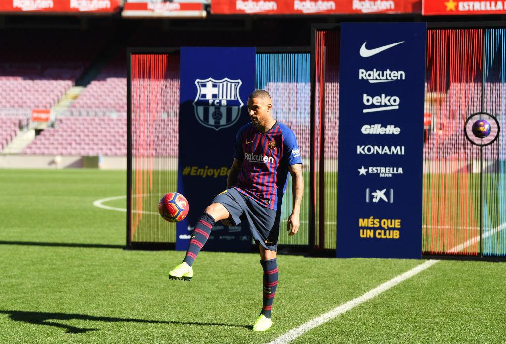15 imágenes de la presentación de Kevin-Prince Boateng con el Barcelona
