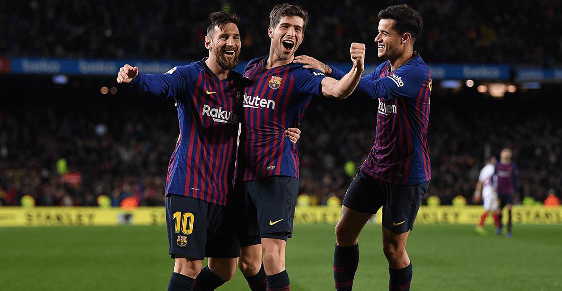 ¡Remontada de campeón! Barcelona aplastó al Sevilla y tenemos los goles
