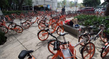 Mobike y Vbike pagarán por uso de vía pública; habrá regulación: Sheinbaum
