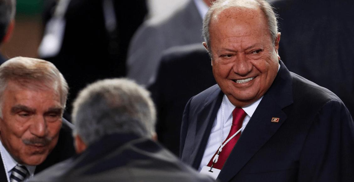 Cosas bizarras y... Romero Deschamps felicita a AMLO por su lucha contra la corrupción en Pemex