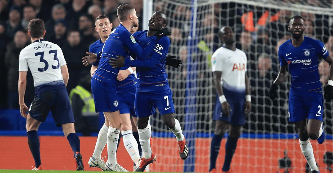 Chelsea eliminó al Tottenham de la Carabao Cup y tenemos los goles