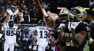 5 claves a seguir en el Eagles vs Saints de la ronda divisional