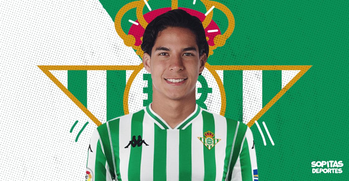 ¡A romperla, crack! Diego Lainez es nuevo jugador del Betis
