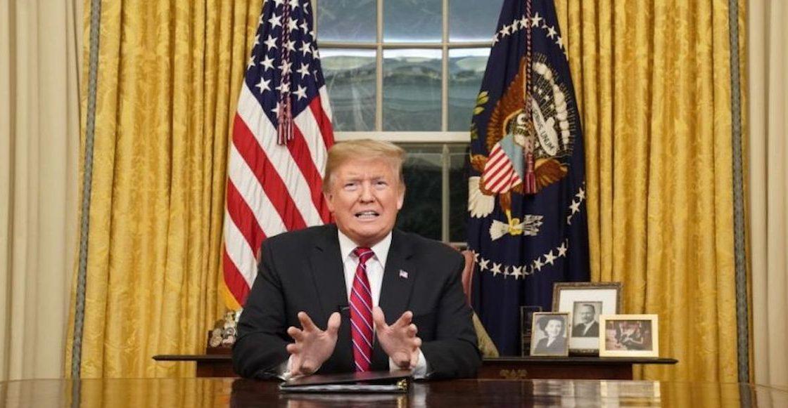 """La construcción del muro """"es un asunto entre el bien y el mal"""": Trump en su primer mensaje a la nación"""