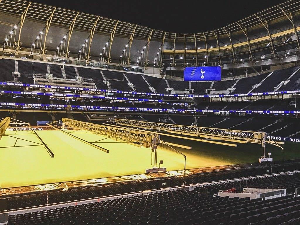 ¡Ahorita no, Tottenham! Su nuevo estadio estaría listo hasta marzo, si bien les va