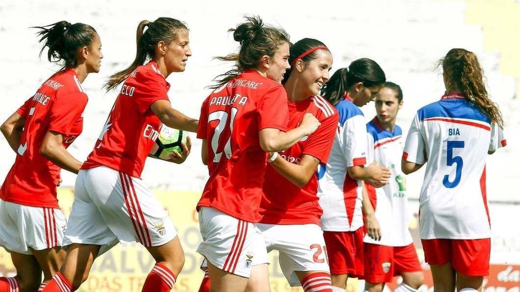 Benfica Femenil se despachó a su rival por 32-0, cifra histórica en Portugal