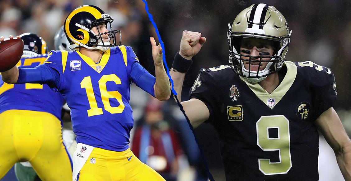 ¿Dónde, cuándo y cómo ver el Rams vs Saints de la final de Conferencia?