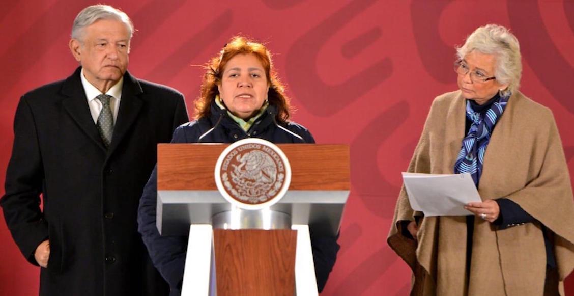 'Justicia y verdad' exige Griselda Triana, viuda del periodista Javier Valdez, ante AMLO