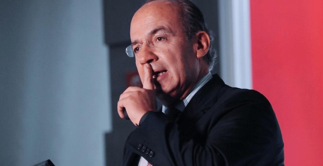 Según Calderón, AMLO