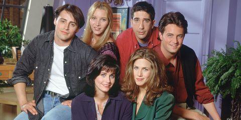 Y tú todavía en la oficina: Esto es lo que ganan los protagonistas de 'Friends' sin hacer nada