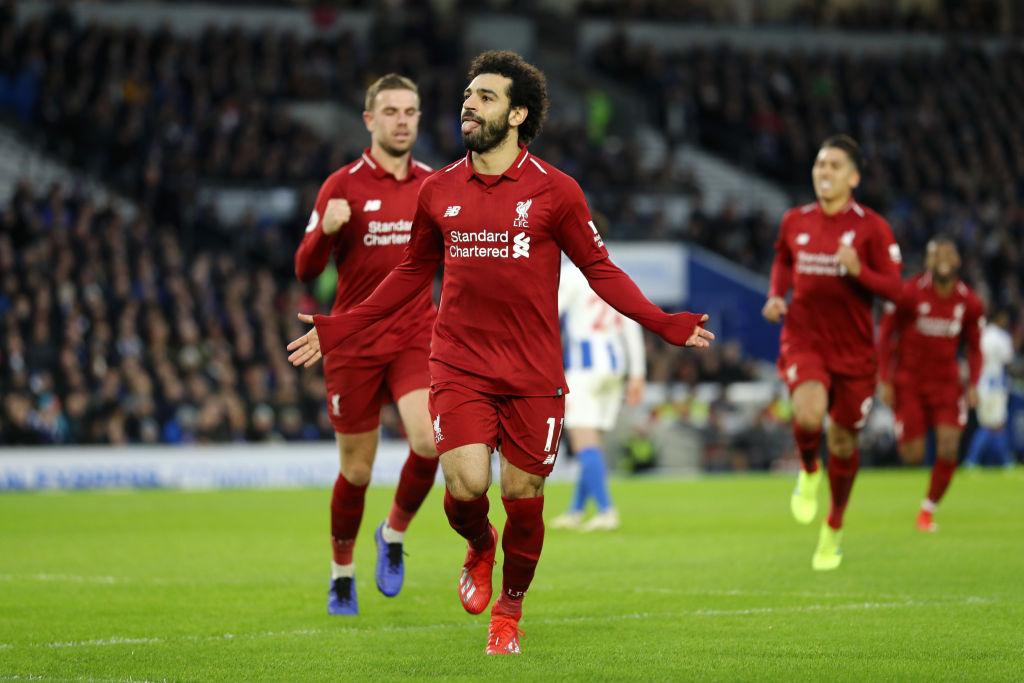 Sufrido triunfo del Liverpool ante Brighton lo mantiene líder de la Premier League