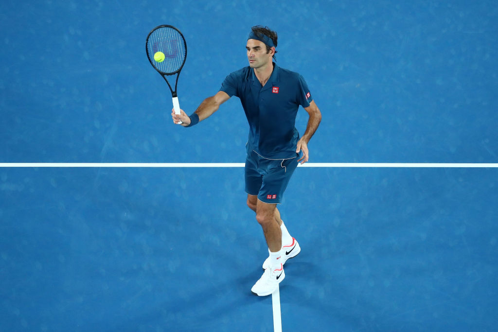 Guardia hace respetar las reglas y niega acceso a Federer por no llevar su acreditación