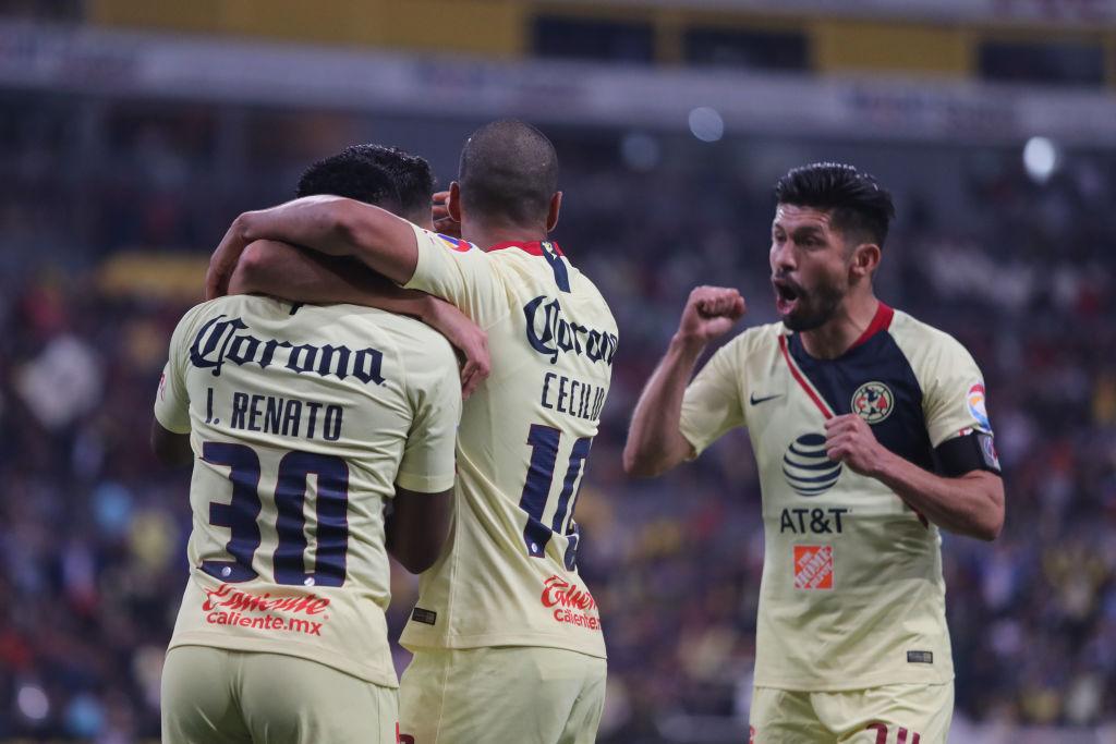 América y la suerte del campeón, derrotaron al Atlas en su debut en la Liga MX