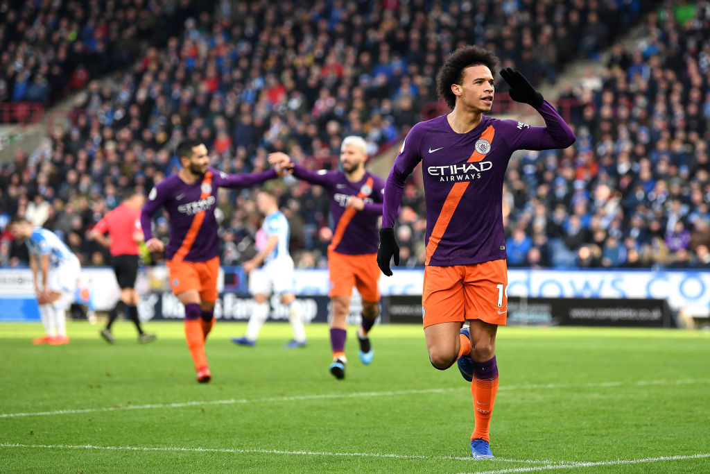 Cuídate Liverpool, que Manchester City goleó al Huddersfield y va por la Premier League