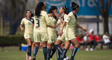 ¡Van los goles! América se presentó en la Liga MX Femenil con triunfo sobre Toluca