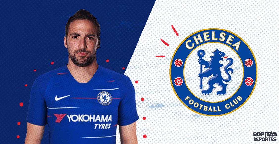 ¡A la Premier League! Gonzalo Higuaín es nuevo jugador del Chelsea