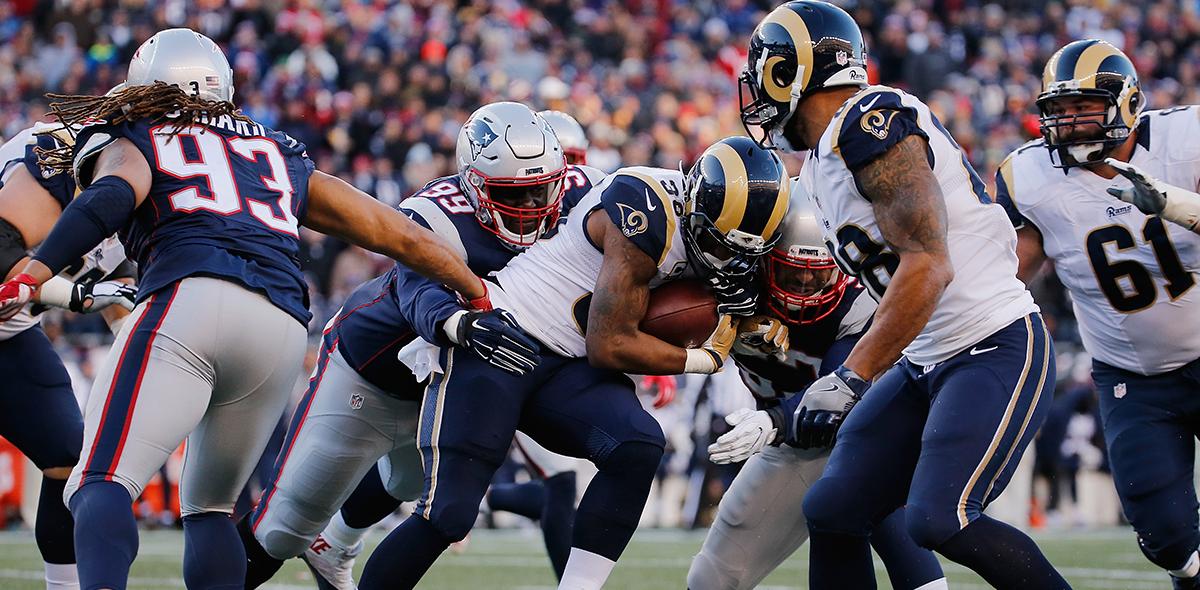 ¡Ventaja de New England! Este es el historial entre Rams y Patriots