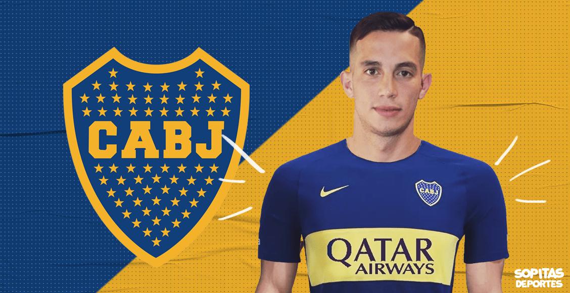 Boca presenta a Jorman Campuzano e Iván Marcone