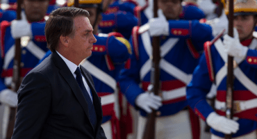 'No queremos una América bolivariana', dice Jair Bolsonaro en el Foro de Davos