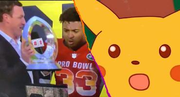 ¿Sergio Ramos? ¡No! Jason Witten rompió el trofeo del Pro Bowl al momento de entregarlo