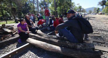 """En bloqueo ferroviario del CNTE-Michoacán """"no habrá represión"""": AMLO; sin desbloqueo,"""