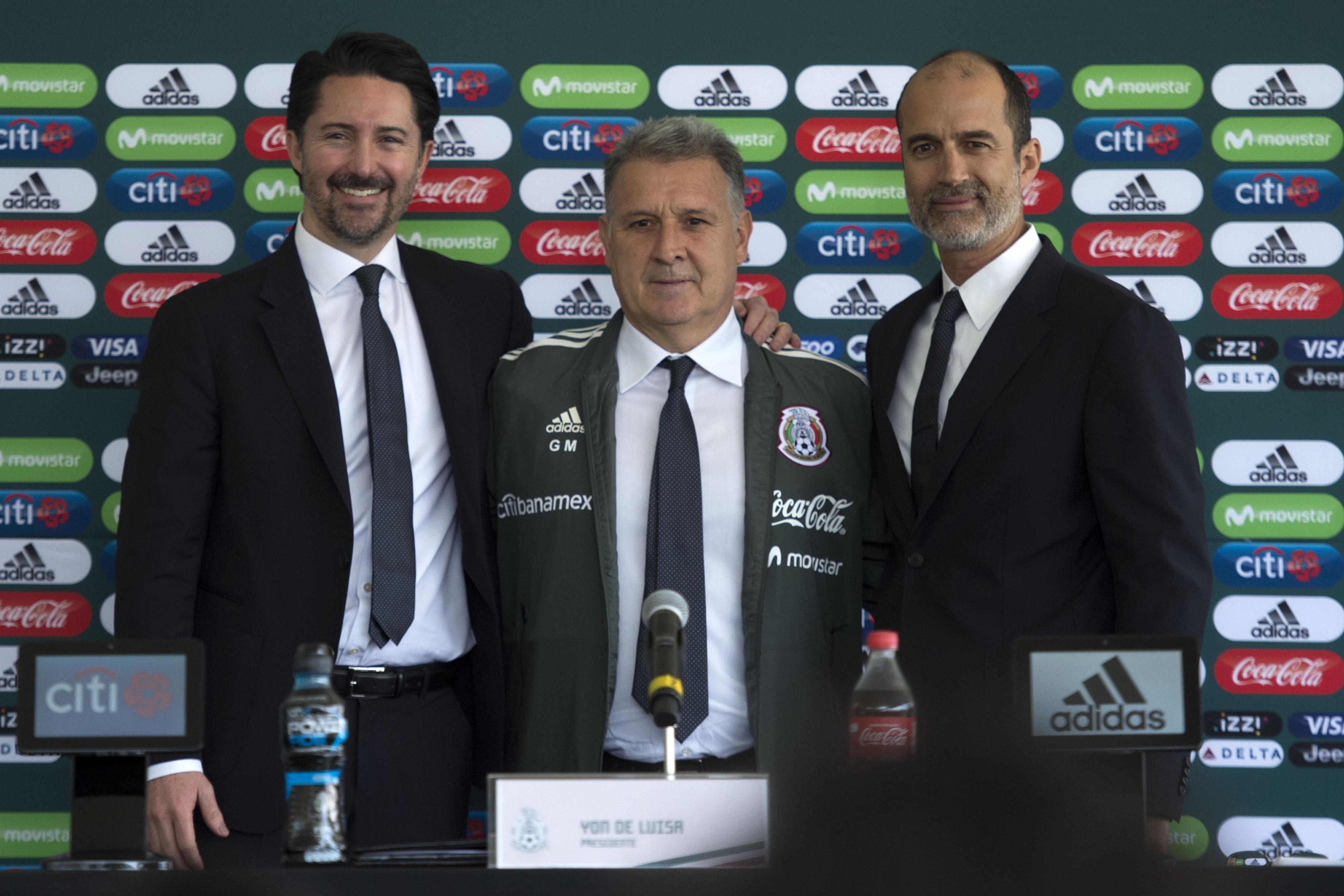 En imágenes, la presentación del 'Tata' Martino con la Selección Mexicana