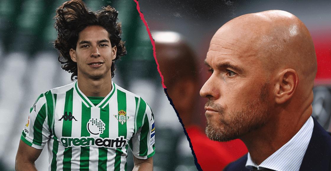 La reacción del técnico del Ajax por no fichar a Diego Lainez