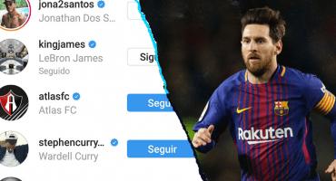 ¡No es broma! Lionel Messi es seguidor del Atlas... en Instagram