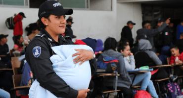 Rescatan a niños, niñas y mujeres migrantes secuestrados en Puebla
