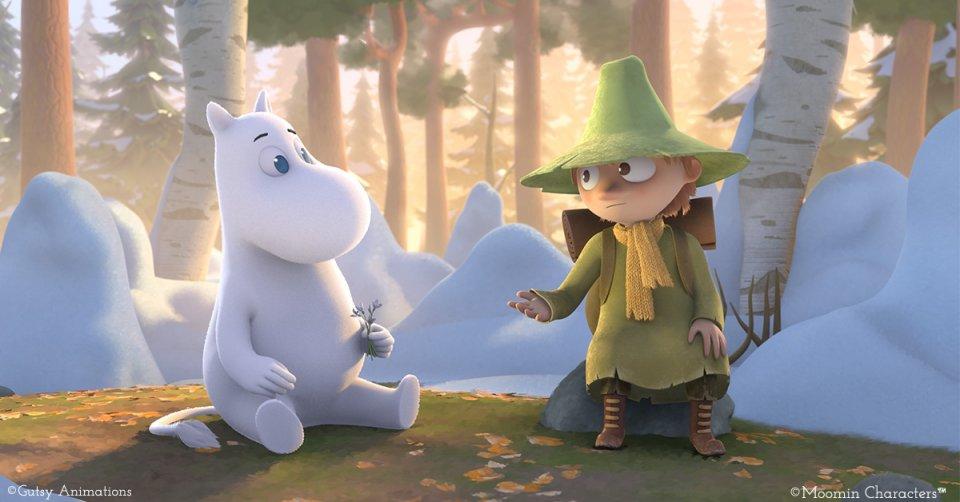 ¡Los troles están de vuelta! Mira el primer tráiler de 'Moomin Valley'