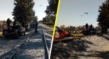Agreden a militares en un operativo contra el huachicol en Otumba, Estado de México