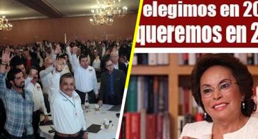 El Panal ya fue, pero el séquito de Elba Esther perfila nuevo partido político