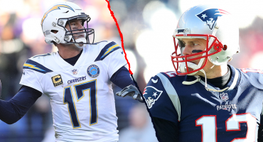 Chargers vs Patriots: Philip Rivers nunca le ha podido ganar a Tom Brady
