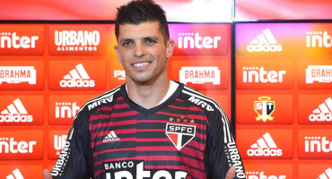 Presentaron a Tiago Volpi en Sao Paulo y se dijo agradecido con Querétaro