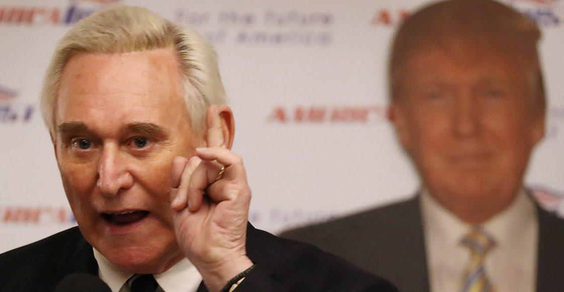 Del RusiaGate a WikiLeaks, ¿quién es Roger Stone y qué rayos tiene que ver con Trump?