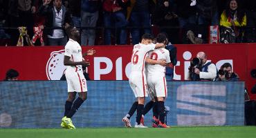 ¡Van los goles! Sevilla le pegó al Barcelona en la Copa del Rey