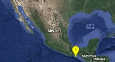 ¿Lo sintieron? Se registró sismo de magnitud 5.8 en Salina Cruz, Oaxaca