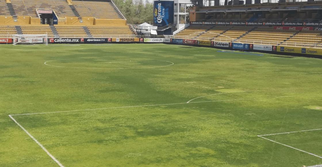 ¿Eres tú, Estadio Azteca? Suspenden el Dorados-Zacatepec por la cancha