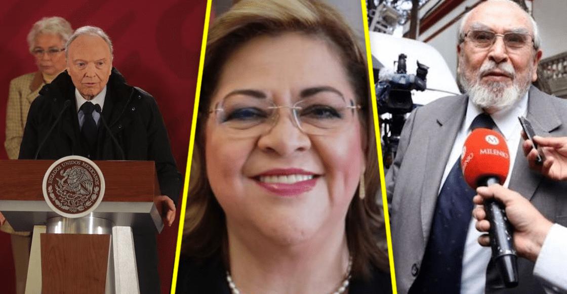 """""""Los incorruptibles"""", estos son los elegidos de AMLO para contender por la Fiscalía General"""