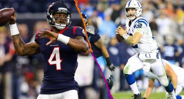 Texans vs Colts: Los números de Deshaun Watson y Andrew Luck frente a frente