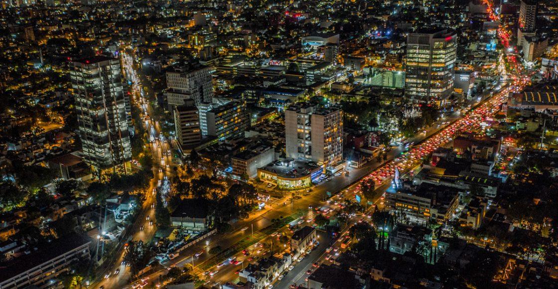 Ciudad de México vista desde las alturas