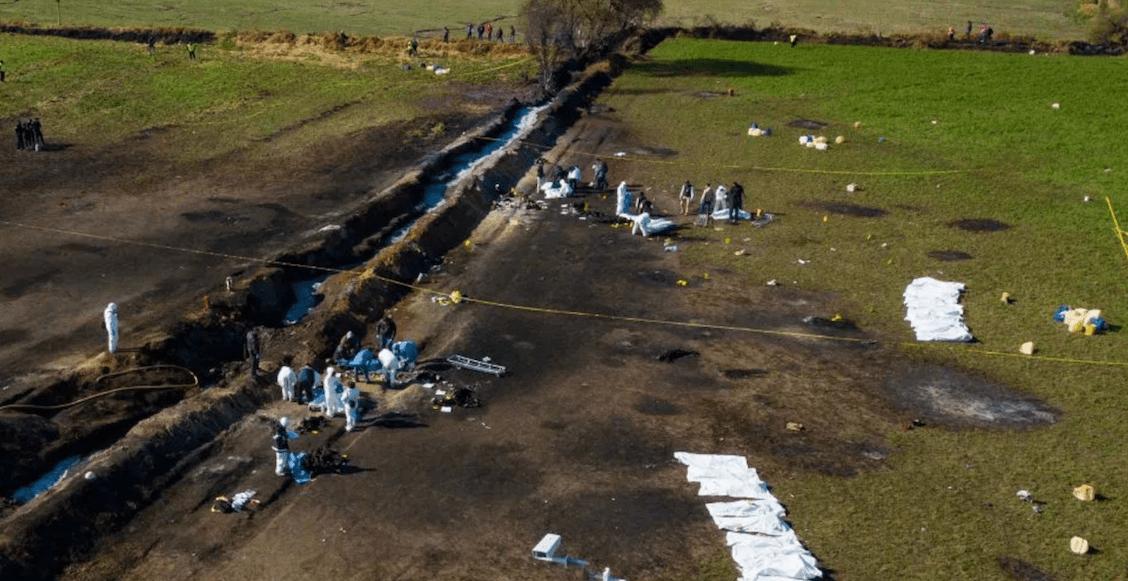 Aumenta a 93 el número de fallecidos por la explosión de Tlahuelilpan