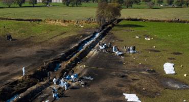 Aún falta identificar al menos 52 restos humanos por el accidente en el ducto de Tlahuelilpan