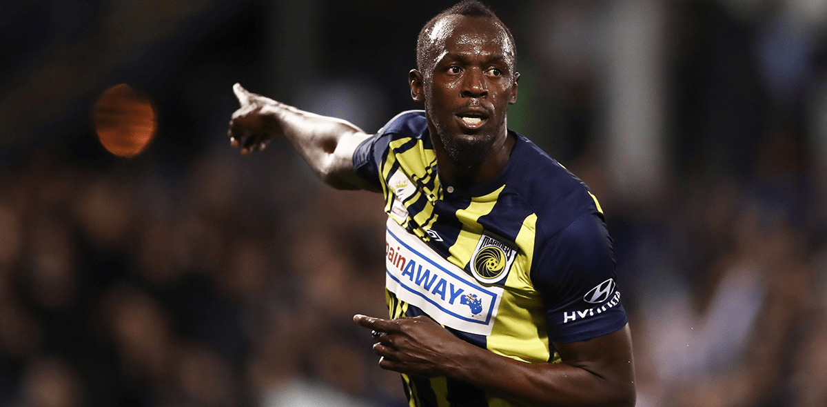 """""""Fue divertido mientras duró"""", Usain Bolt se despidió del futbol"""