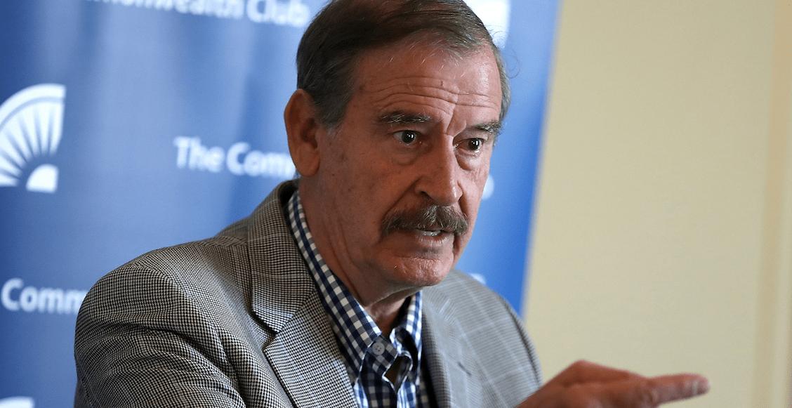 """Sonso el que le crea"" a AMLO, dice Fox por posible juicio a expresidentes"