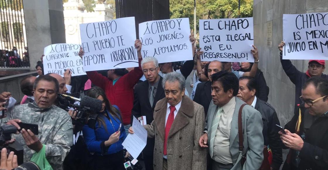 Defensa del Chapo en México pide la anulación de su extradición a Estados Unidos