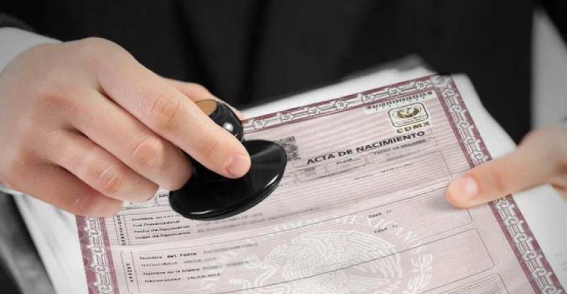 Gobierno de la CDMX elimina la renovación del acta de nacimiento para trámites