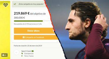 ¡Gesto de crack! Rabiot donó 25 mil euros para reanudar la búsqueda de Emiliano Sala