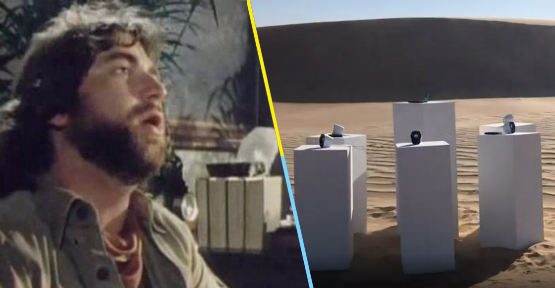 """I bless the rains down in Africa"": La famosa canción de Toto sonará eternamente en el desierto"